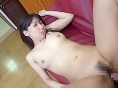 Horny Japanese girl Yui Hatano in Crazy Voyeur, Blowjob JAV clip