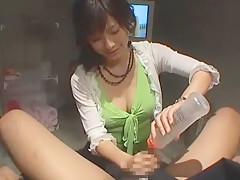 Amazing Japanese model Meguru Kosaka, Kaho Kasumi, Ayami Sakurai in Hottest Handjob JAV scene