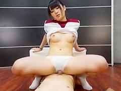 Hottest Japanese girl Nana Usami in Exotic POV JAV video