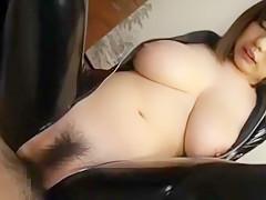 Incredible Japanese girl in Hottest Cunnilingus, Latex JAV scene