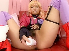 Crazy Japanese chick Haruki Sato in Hottest Toys, Stockings JAV video
