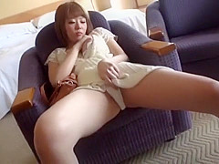 Horny Japanese girl Mao Hamasaki in Hottest JAV scene