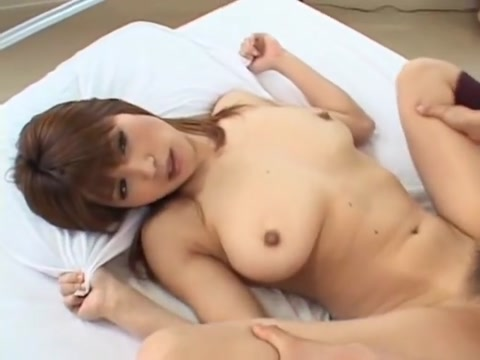 Naughty busty Japanese gets boned nicely