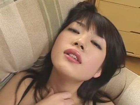 Exotic Japanese chick Erika Sato in Amazing Dildos/Toys, Stockings/Pansuto JAV scene