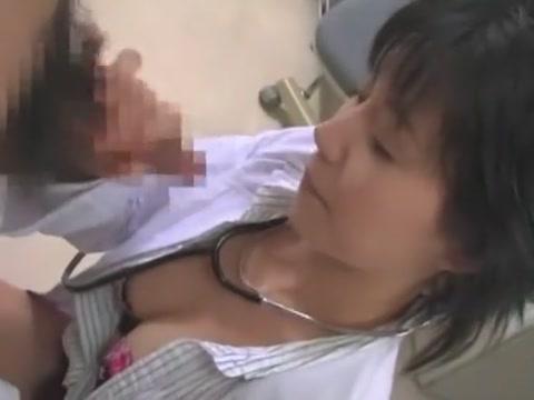 Horny Japanese whore Tsubasa Okina, Mina Nakano, Akane Hotaru in Amazing Blowjob/Fera, Medical JAV scene