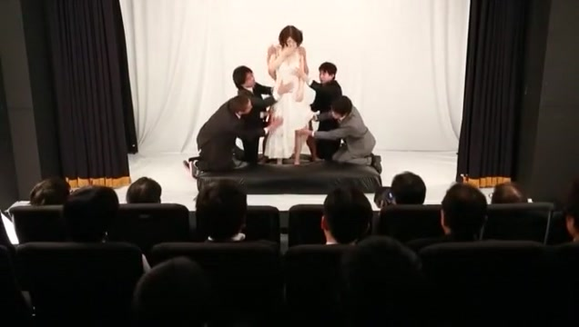 Exotic Japanese slut Anri Okita in Fabulous Big Tits, Gangbang JAV clip