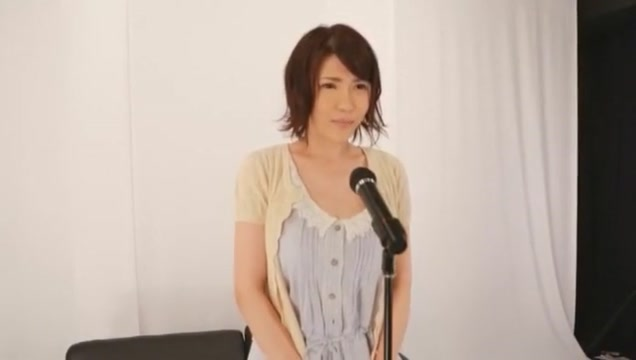 Crazy Japanese chick Anri Okita in Best Public, Interview JAV clip