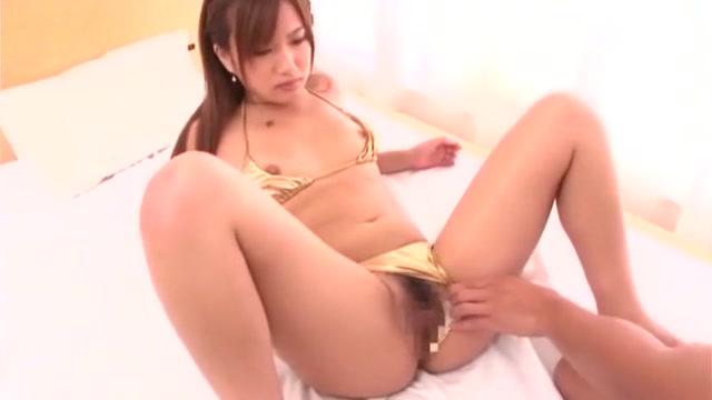 Hottest Japanese chick Rio Fujisaki, Ameri Ichinose, Erika Kurisu in Crazy Bikini, Small Tits JAV scene